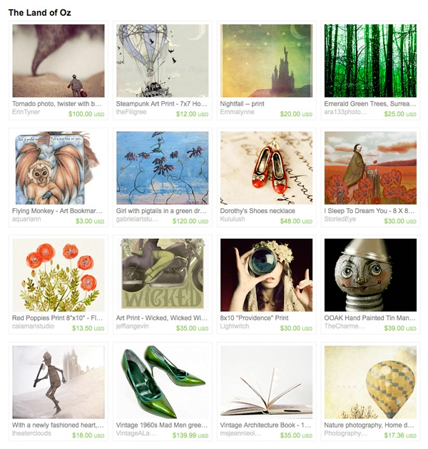 Wizard of Oz Gift Treasury