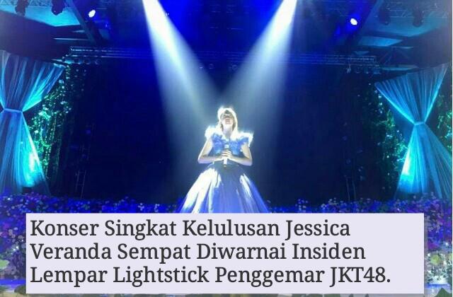 Konser Kelulusan Jessica Veranda JKT48