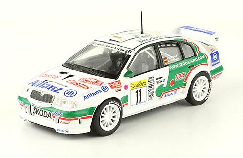 collezione rally monte carlo Skoda Octavia WRC Evo 2 2001 Armin Schwarz - Manfred Hiemer