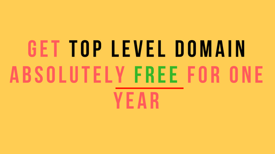 how to get top level domain for free