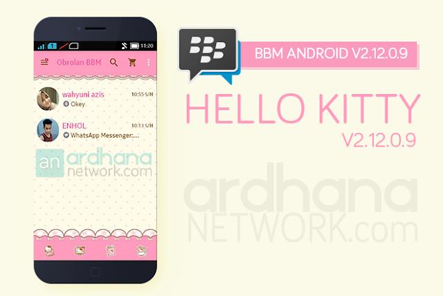 BBM Hello Kitty V2.12.0.9 - BBM Android V2.12.0.9