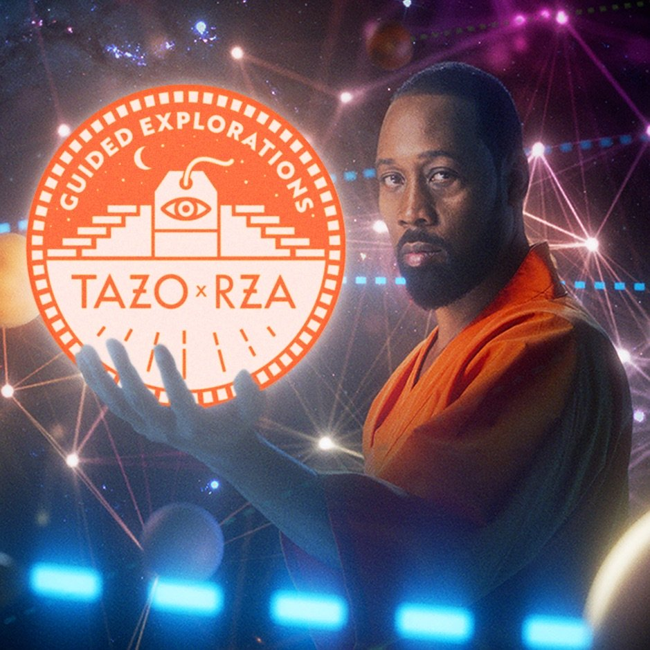 RZA x TAZO Tea 'Guided Explorations' EP | Meditieren mit dem Head Master des Wu-Tang-Clan