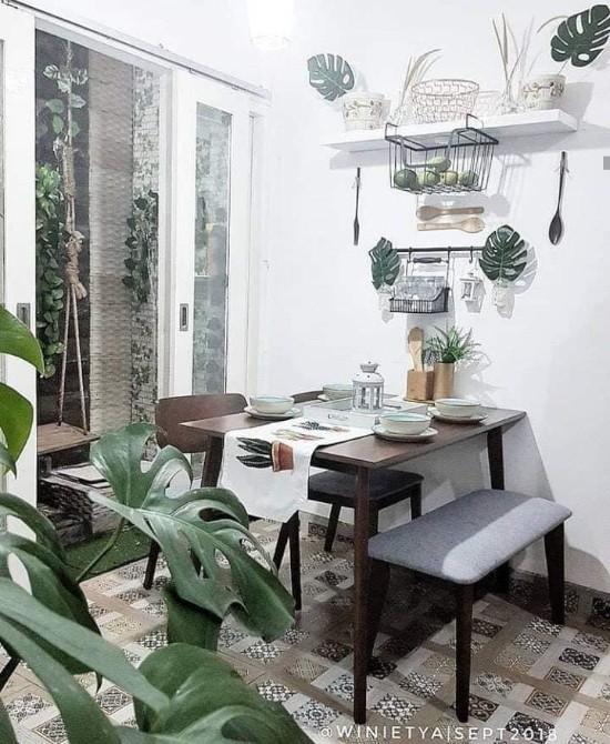 ide inspiratif ruang makan rumah minimalis