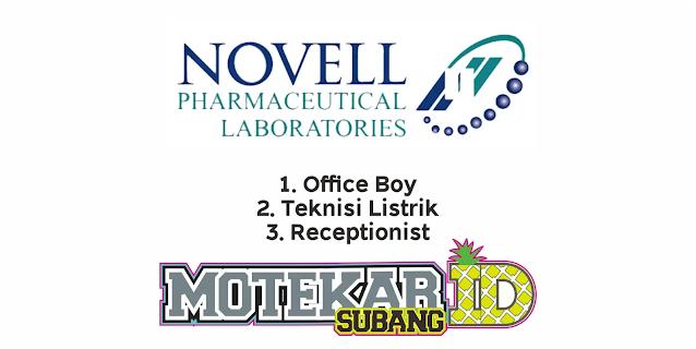 Lowongan Kerja PT Novell Pharmaceutical Laboratories Februari 2021 - Motekar Subang