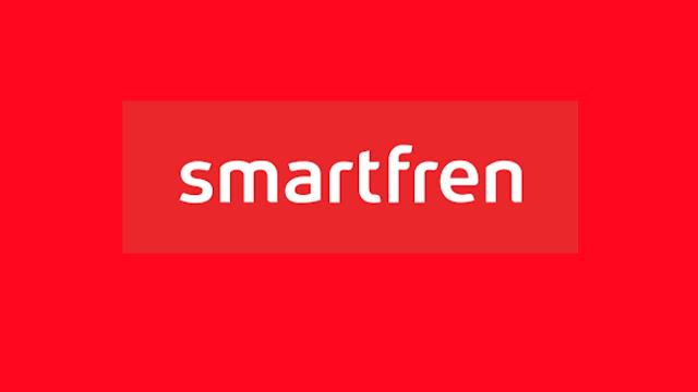 logo smartfren merah putih