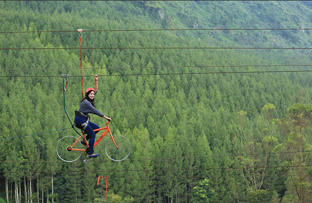 sky bike maribaya
