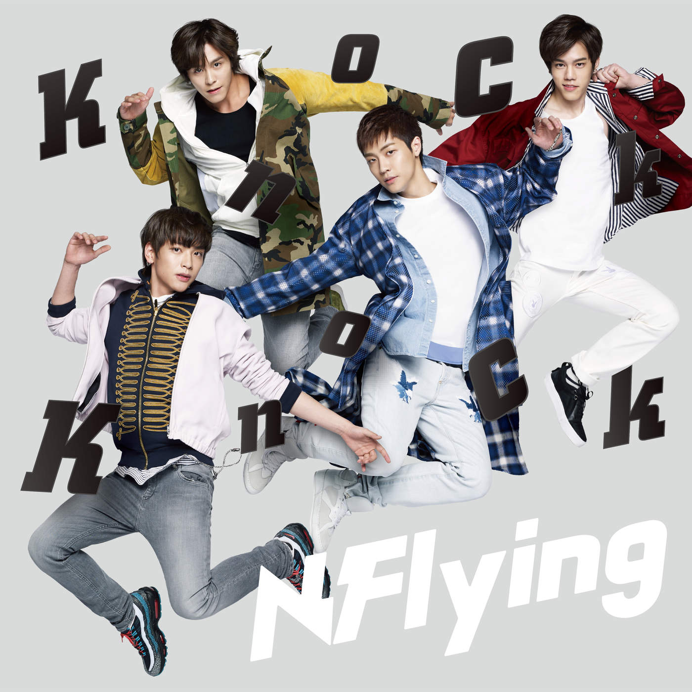 N.Flying – Knock Knock – Single