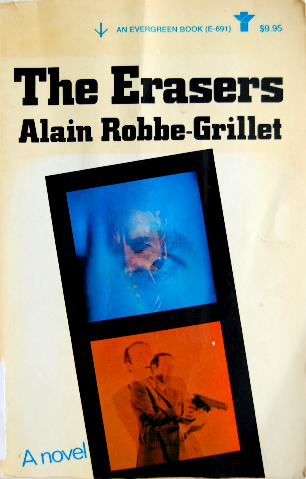 Erasers, Alain Robbe-Grillet