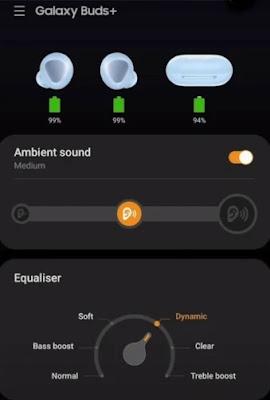 Samsung Galaxy Buds Plus - Samsung App