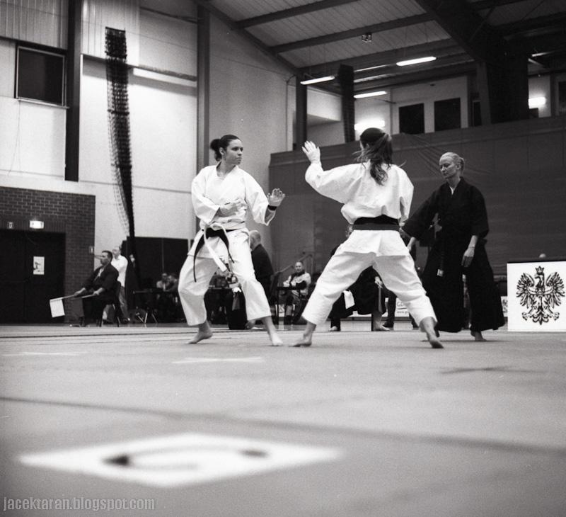 karate tradycyjne, mistrzostwa polski, gdansk 2014, fotografia analogowa, sredni format, kiev, kodak trix 400;