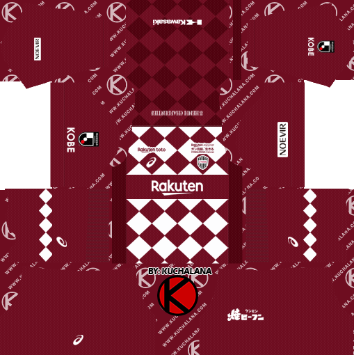 Vissel Kobe 2020 Kit - Dream League Soccer Kits