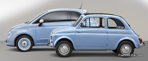 "Fiat 500 ""1957 Edition"" with Nuova Fiat 500"
