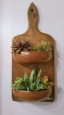 Repurposed Cutting Board