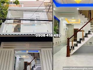 Bán nhà quận Gò Vấp đường số 3 phường 9 - 4x10m 2 phòng ngủ giá 3.7 tỷ (MS073)