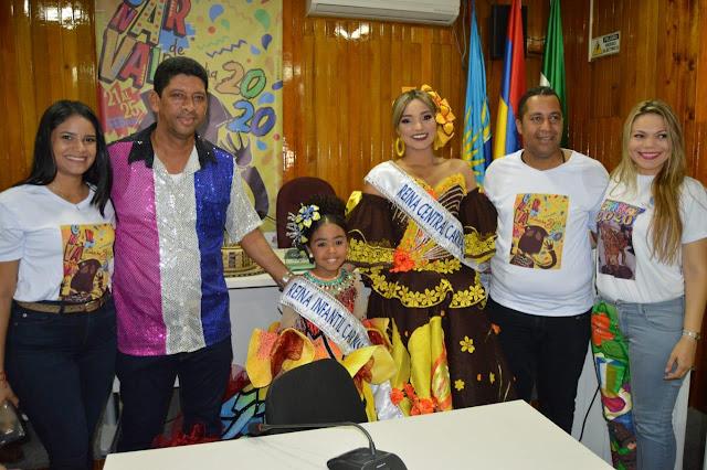Alcalde de Riohacha impuso banda a las reinas del carnaval 2020