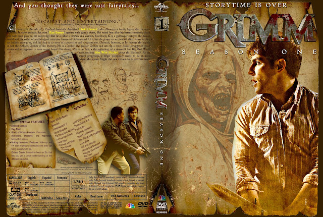 Capa DVD Grimm Primeira Temporada Completa