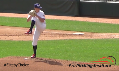 When you go directly from the top of your front leg lift into your throwing action, there's an extremely high likelihood your throwing hand moves through the same release window on every pitch.