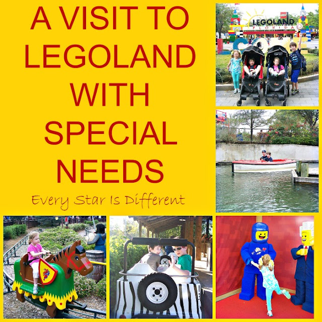 A visit to LEGOLAND with Special Needs