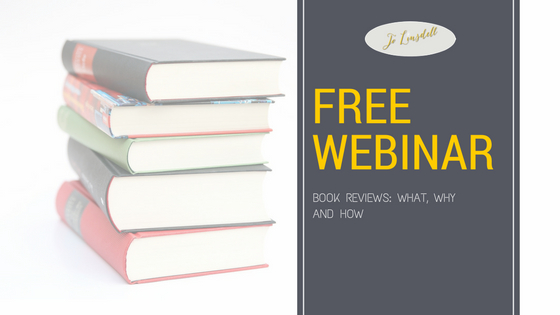 #FreeWebinar 'Book Reviews: What, Why, and How' #Books #BookReviews #AmReading