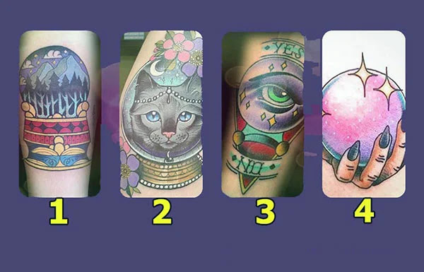 Узнайте свое будущее по выбранной татуировке