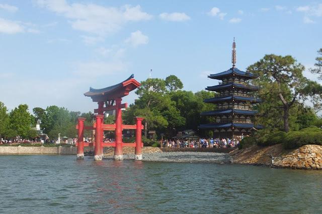 Japan Panvilion EPCOT World Showcase