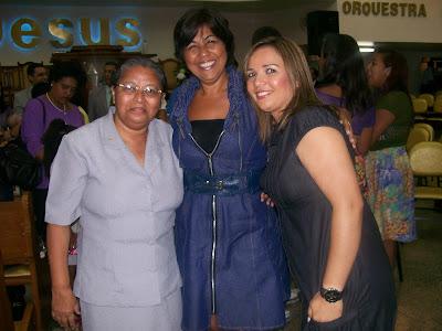 Eu, Marta e Rose Por Ocasião da Festa do Feminino! 2011