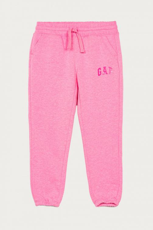 Pantaloni lungi de trening roz de fete 104-176 cm