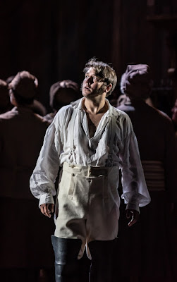 Prokofiev: War and Peace - Jonathan McGovern as Andrei - Welsh National Opera (Photo Clive Barda)
