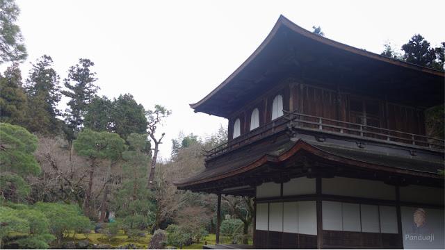 Silver Pavilion di Ginkakuji Temple