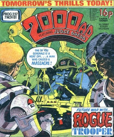 2000 AD prog 237, Rogue Trooper