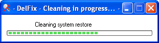 DelFix Cleaning system restore