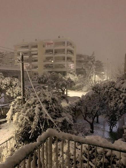 Κλέαρχος Μαρουσάκης : Πυκνές χιονοπτώσεις στην Αττική -Νέα επιδείνωση το βράδυ