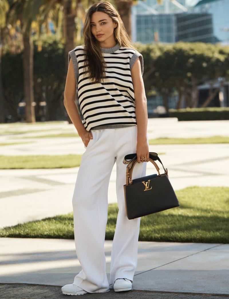 Louis Vuitton unveils 2021 Capucines handbag campaign.