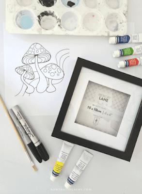 Glass Painting DIY Tik Tok craft trend how to reverse anime glass paint tutorial
