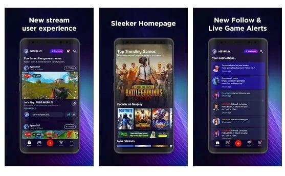 Next Play - Aplikasi Live Streaming Game Terbaik Untuk Android