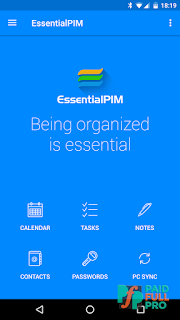 EssentialPIM Your Personal Information Manager Pro APK