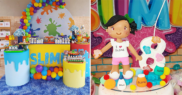 💡 75 Ideas para Decorar una Fiesta Slime