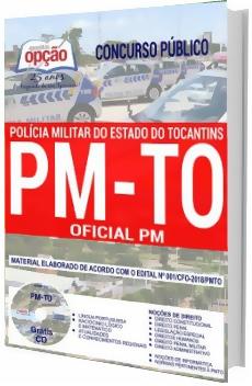 Apostila Concurso PM-TO 2018 Oficial PM
