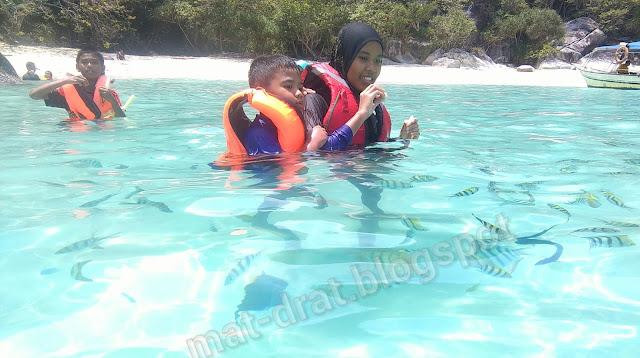 Tempat Snorkeling best di Pulau Perhentian