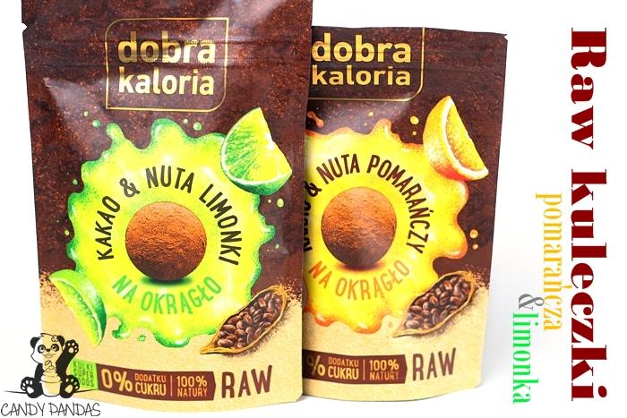 Raw kulki owocowo-orzechowe- Dobra Kaloria