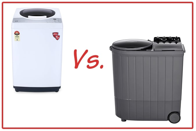 IFB REWH (left) and Whirlpool ACE XL (right) Washing Machine Comparison.
