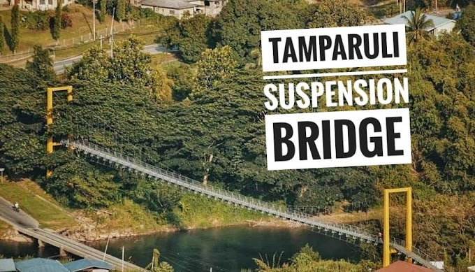 TAMPARULI SUSPENSION BRIDGE | JAMBATAN TAMPARULI