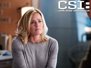 Elisabeth Shue will NOT be in the upcoming 2-hour finale of CSI