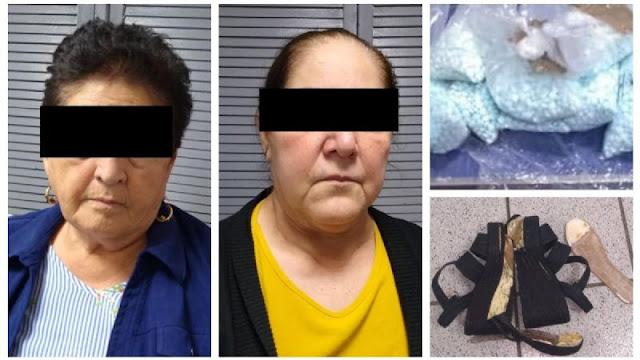Abuelitas del narco son detenidas, Militares capturan a mujeres de 60 y 75 años con droga en Sonora