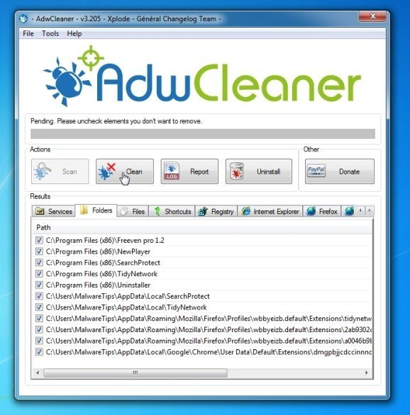 Cara Perbaiki 'The Proxy Server Refusing Connections' di Browser - ADW Cleaner 2