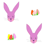 free printable easter pattern