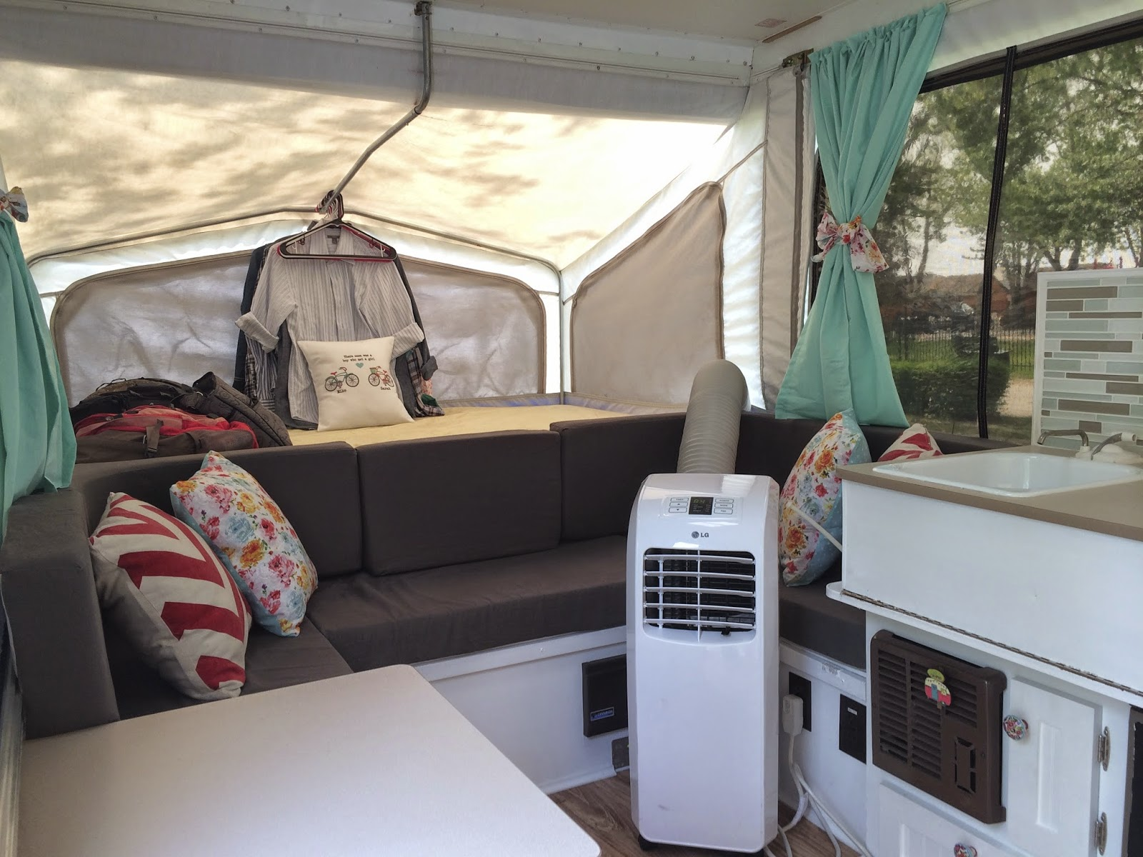 Deliver Love A Camper With A Backsplash