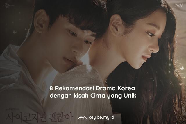 8 Rekomendasi Drama Korea dengan kisah Cinta yang Unik