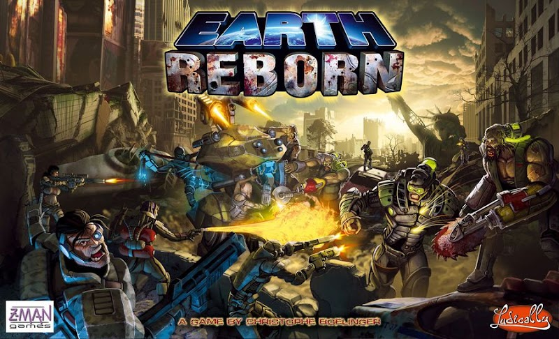 New Post Apocalyptic Board Games [BGG, BoardgameGeek - Earth Reborn]