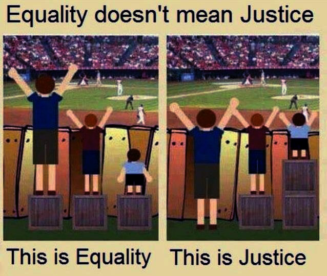 Administer justice equal justice for everyone